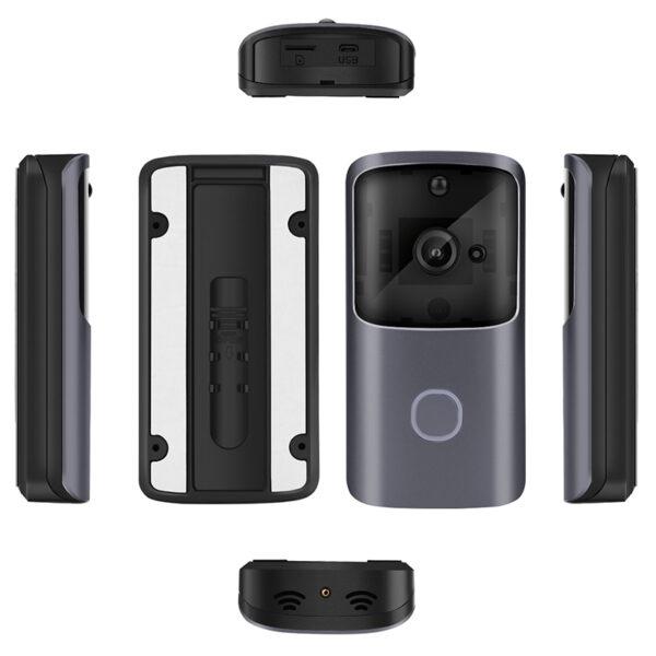M10 720P 166° Smart WIFI Video Doorbell Two-way Audio Movement Detection