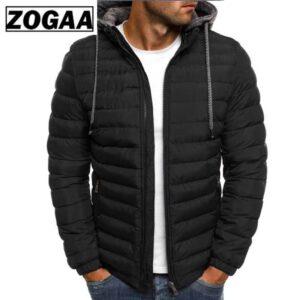 ZOGAA Winter Jacket Men Clothes 2018 New Brand Hooded Parka Cotton Coat Men Keep Warm Jackets Fashion Coats