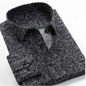 Large Size 8XL 9XL 10XL VROKINO Brand 2020 Vintage Floral Print Long Sleeves Men's Business Casual Dress Fashion Classic Shirt