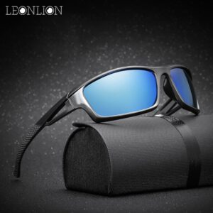 LeonLion 2020 Polarized Oculos De Sol Masculino Brand Designer Classic Vintage Outdoor Driving Men Sunglasses UV400 Sun Glasses