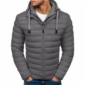 ZOGAA Winter Jacket Men Clothes 2018 New Brand Hooded Parka Cotton Coat Men Keep Warm Jackets Fashion Coats