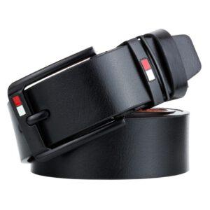 Hot High Quality Leather Belt Men New Business Belts For Men Pin Buckle Fancy Vintage Designer Belt Fashion Waist BeltMale