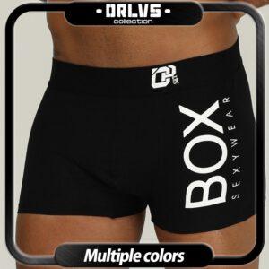 ORLVS Brand Men Underwear Boxer cotton mens underpants male panties shorts U convex pouch for gay breathable calzoncillo hombre