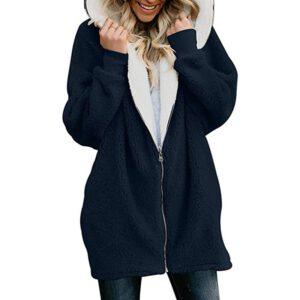 2020 Autumn Winter Faux Fur Coat Women Warm Teddy Coat Ladies Fur Teddy Jacket Female Long Coat Plus Size Outwear Plush Overcoat
