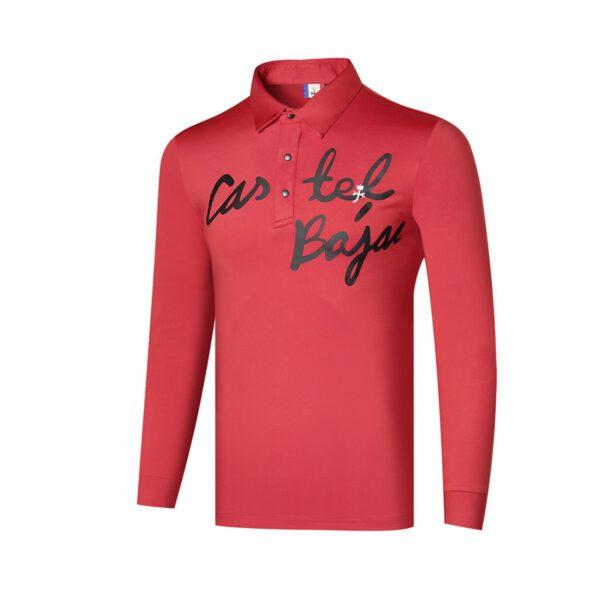 Q2020 Men's Sportswear Long Sleeve Golf T-Shirt 3colors Golf Clothing S-XXL Choice Leisure Golf Shirt Free Shipping