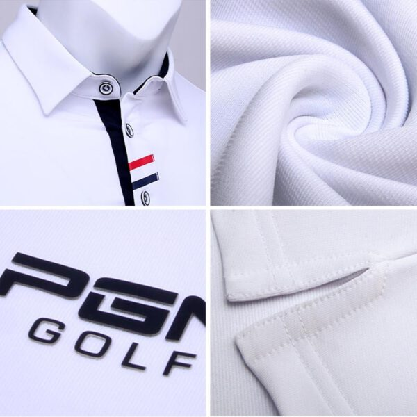 Golf Trainning T Shirts Autumn&Winter Men's Clothing Comfortable Breathable Quick-Drying Golf Shirts Golf Long Sleeve Sportswear