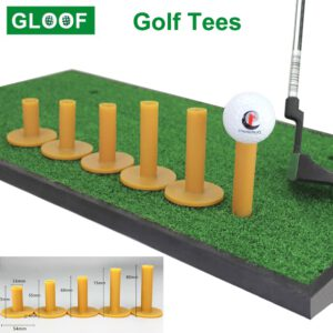 1Pcs Durable Rubber Golf Tee Holder Golf Tees Plastic Mat Golf Ball Holder Beginner Trainer Equipment