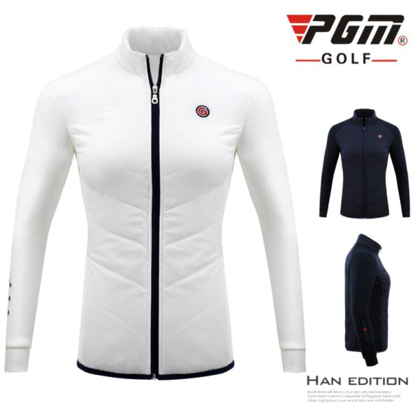 Jackets Golf Tennis Baseball Apparel Women Keep Warm Thicken Down Trench Coat Winter Windproof Full Zipper Sports Jacket