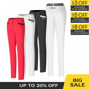 women's golf pants clothing ladies wear Spring and autumn thin trousers