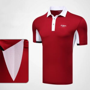 Golf Clothing Men T-shirt Summer Sportswear Short Sleeve Team Clothes Golf Wear Trainning T Shirts Breathable Men's Clothing