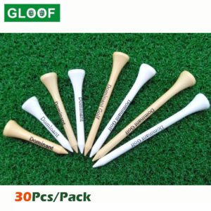 30Pcs/Pack Wooden Golf Tee Tees Replacement Driving Range Hitting Trainer Club Accessories Golf Holder