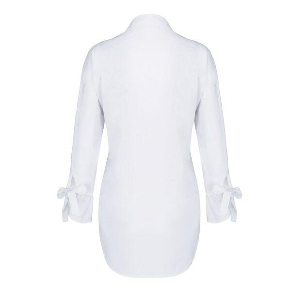 Spring Long Sleeve tops Women Casual shirt top Lapel Shirt 2020 fashion Plain Print Blouse Plus size shirt tops blouses women