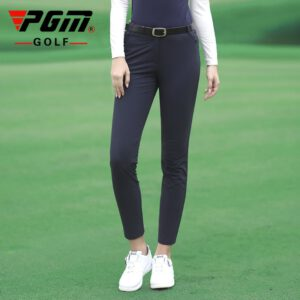 Pgm Autumn Winter Ladies Golf Pants Women High Elasticity Sport Trousers Slim Fit Golf/Tennis Pants Warm Windproof Golf Clothing